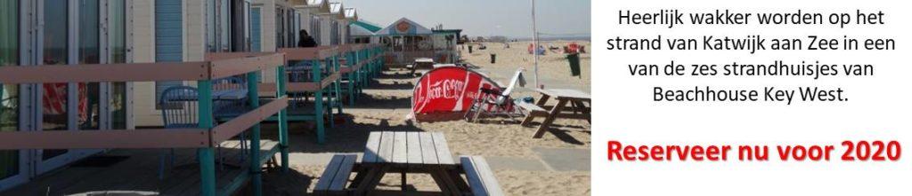 Strandhuisjes reserveren